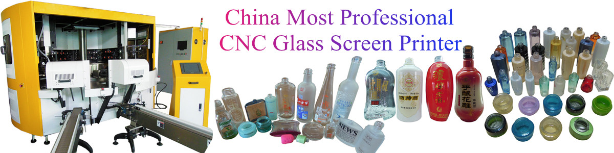 China most professional macturer of CNC Glass Screen Printing Machine