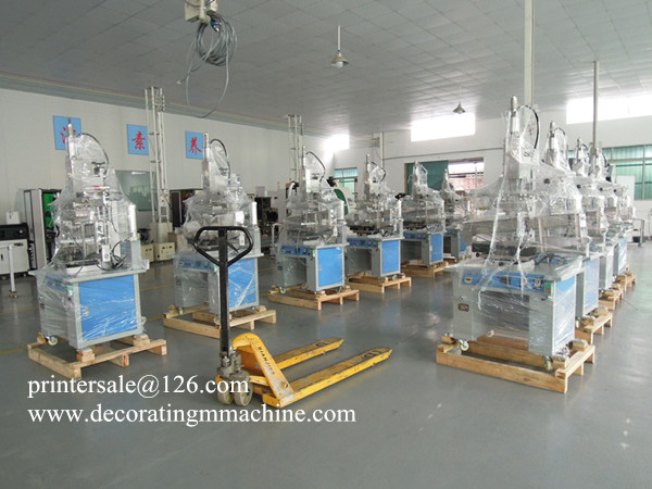 Flat and Round Hot Stamping Printer Machine