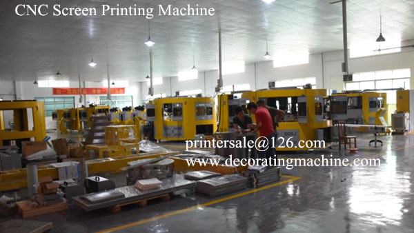 glass screen printing machine workshop