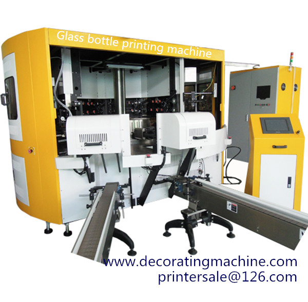 6 color Rotary Glass Screen Printing Machine