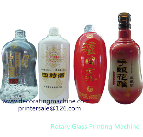 Rotary Screen Printing machine for plastic bottles