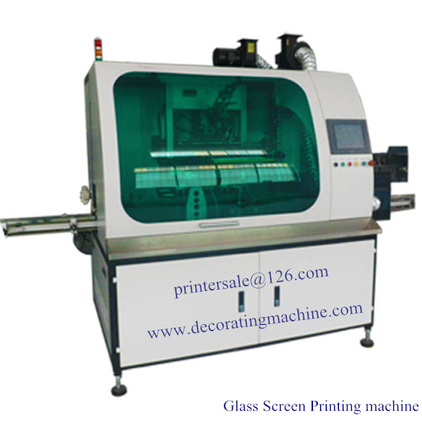 1 Color Glass Full Servo CNC Screen Printer 3D