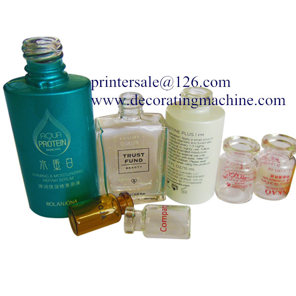 Economic CNC UV Glass Bottle/Container Screen Printer PT12