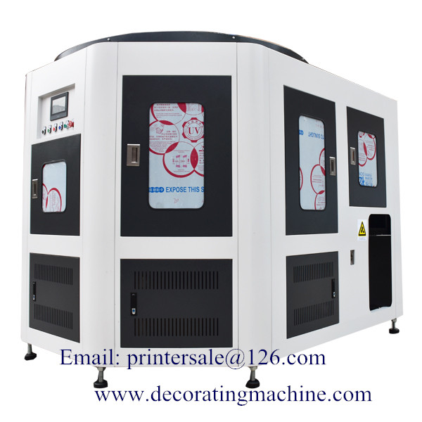2 Color Rotary Plastic Screen Printing Machine CNC02
